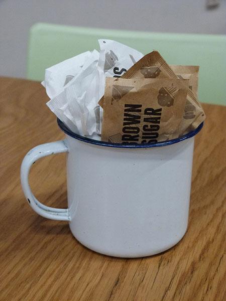 mug and sugar