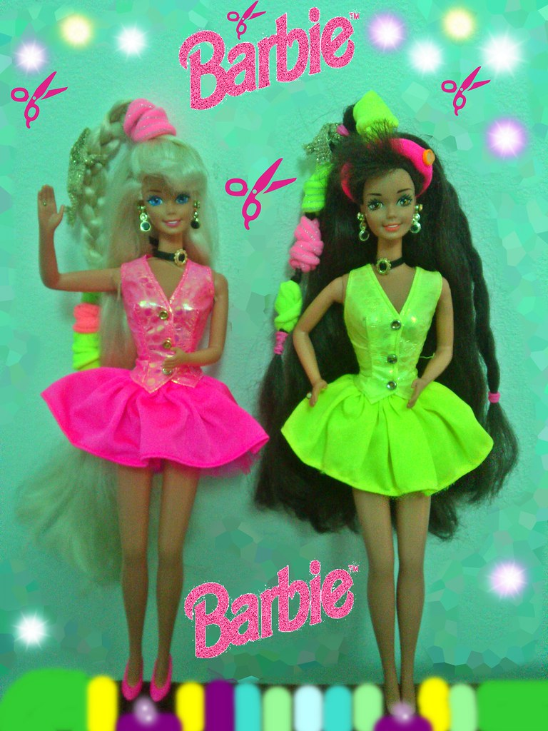 Cut And Style Barbie Coupe Et Coiffe Barbie Super Schnitt Flickr