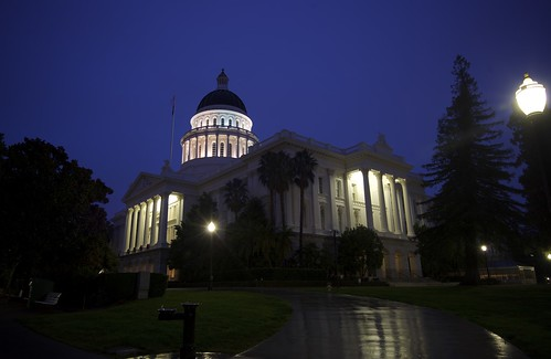 ca morning usa architecture sunrise landscape sacramento statecapital
