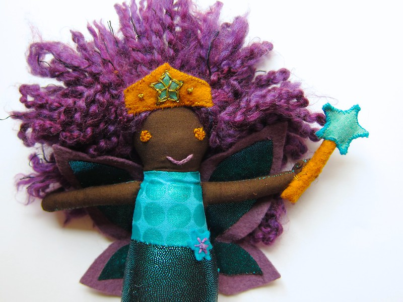 Z's Mermaid Fairy Superhero doll is done!