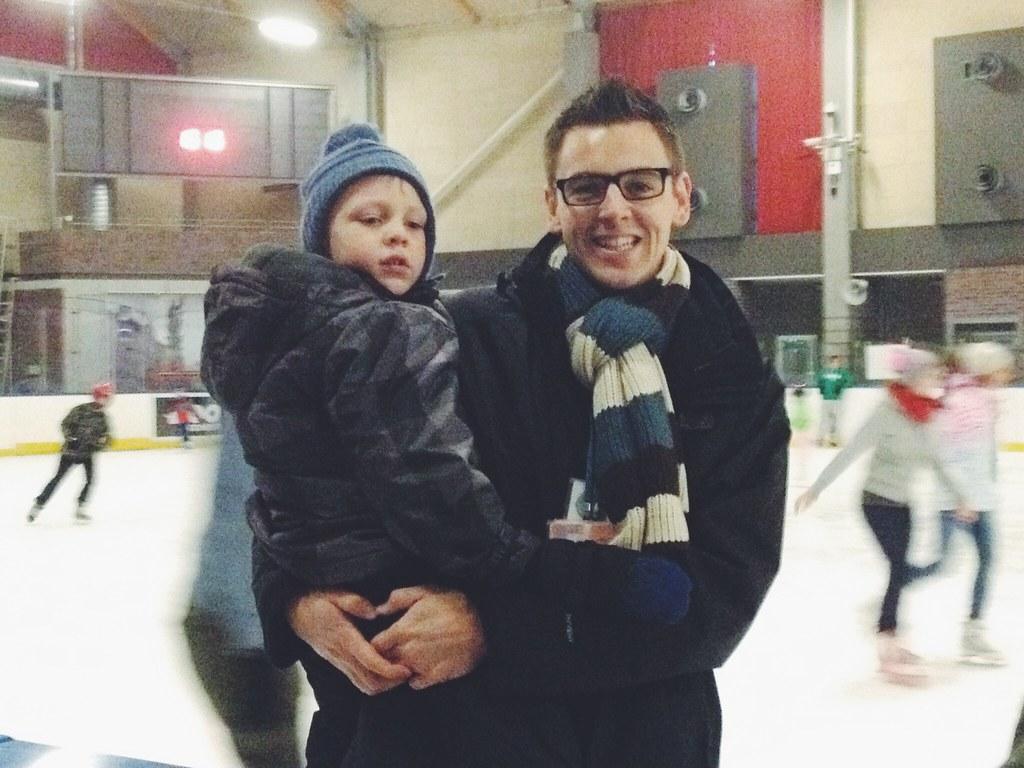 Ice Skating in Poland (11/29/14)