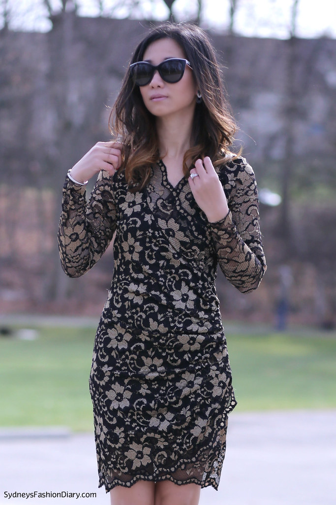 Black and gold dress_SydneysFashionDiary