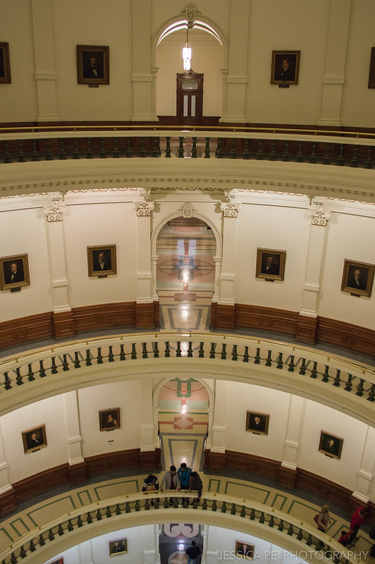 Texas State Capitol Top Floor