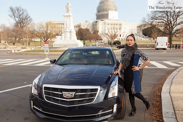 Me with Cadillac ATS Coupe