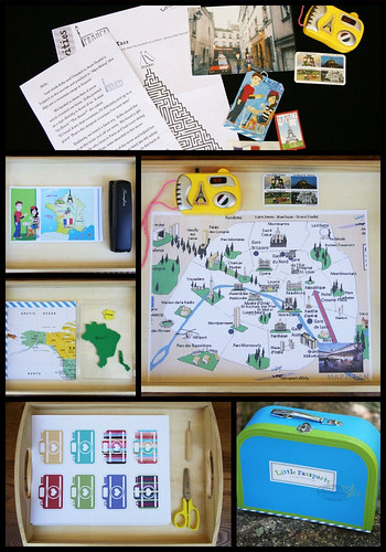 Montessori-Inspired Little Passports Activities - France