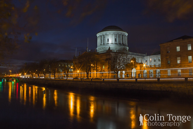 Four Courts at Night