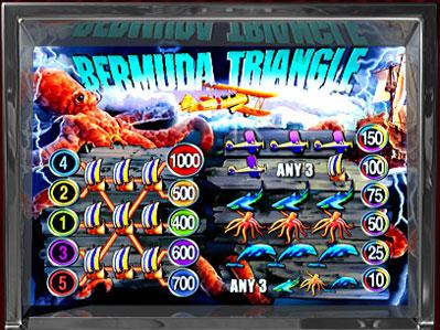 free Bermuda Triangle slots payout