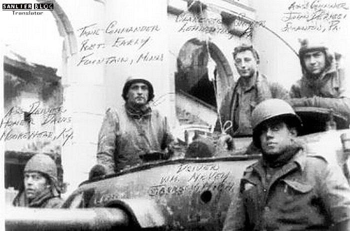 坦克战:活活烧死28
