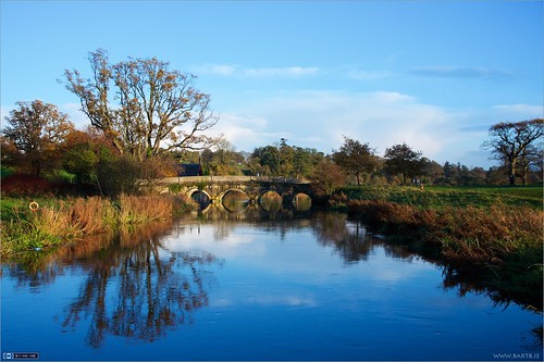bridge ireland river evening maynooth kildare localhistory landscapeshot cartonestate