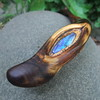 Boulder Opal inlaid in Acacia wood