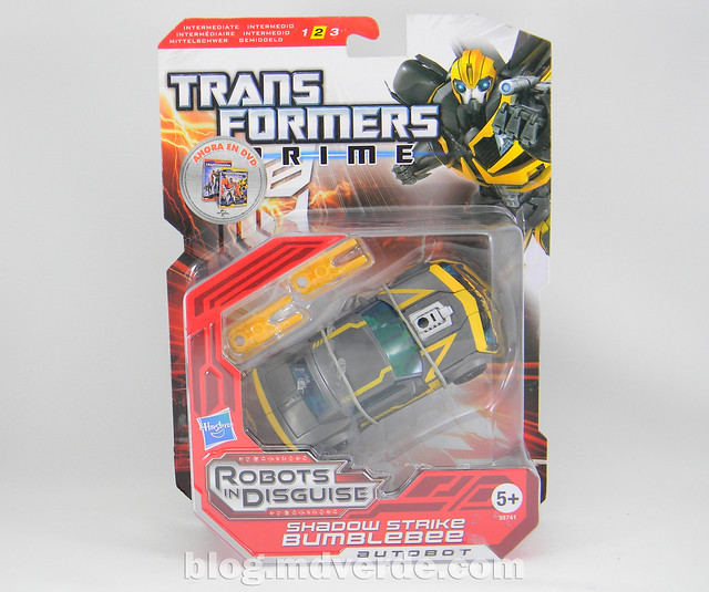 Transformers Shadow Strike Bumblebee Deluxe - Transformers Prime RID - caja