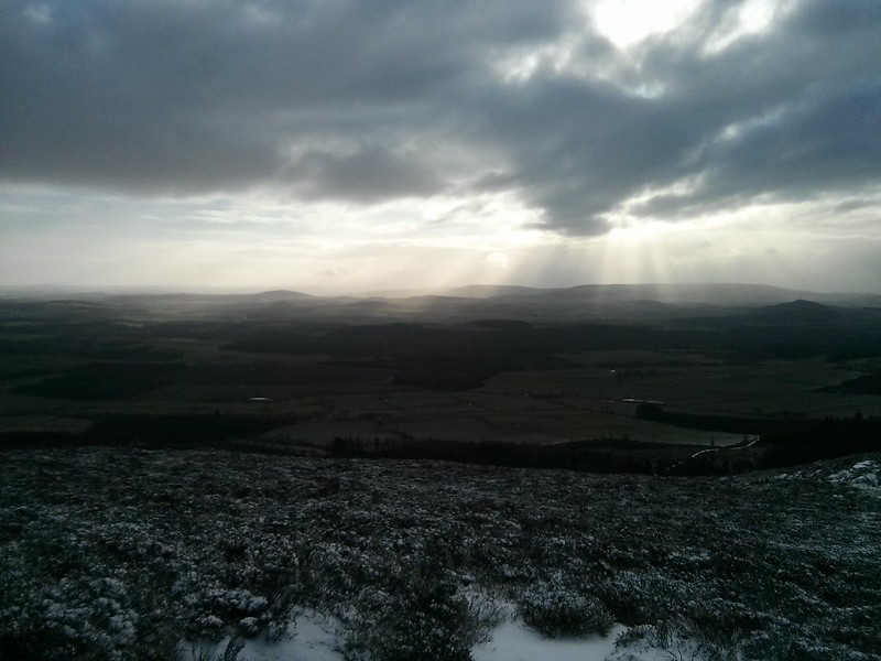 Light rays from Cairn William