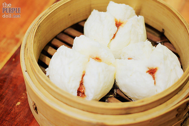 Steamed Bun with Barbecue Pork (P99)