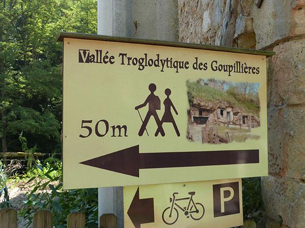 vallée troglodytique des Goupillières