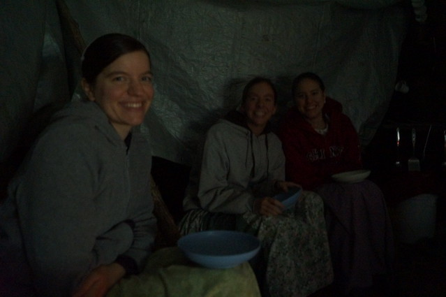 Camping, Cooking, Singing & Laughing - blog post on Seven Sisters