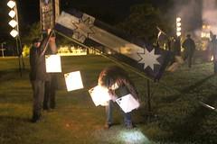 Lighting the lanterns for Eureka dawn vigil - Eureka160-IMG_9220-3000w-lighting-the-lanterns
