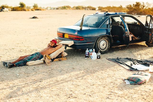 Emmanuel Rosario - Morning in the desert