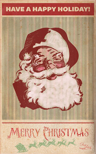 Image of a Santa Claus Christmas card
