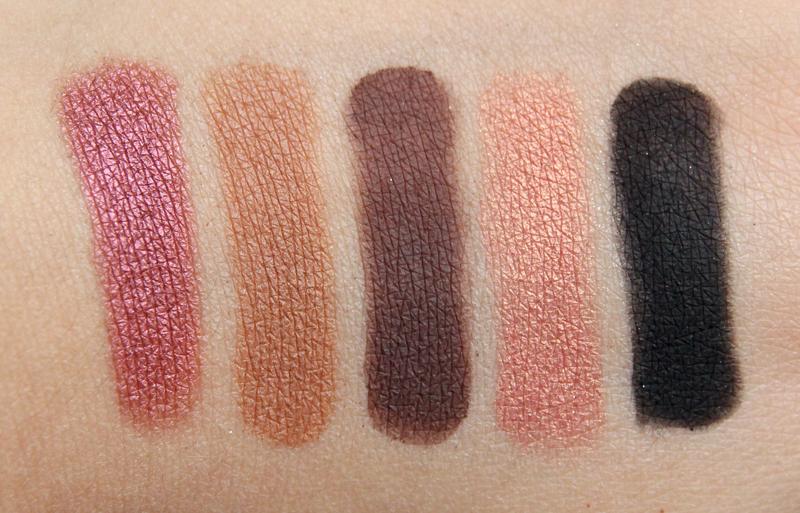 Anastasia Tamanna eyeshadow palette swatch2