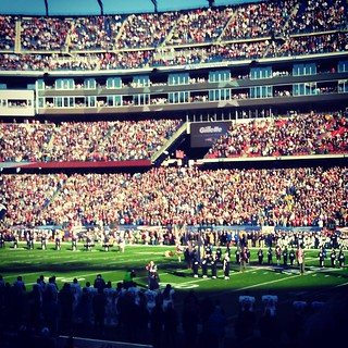 Let's go Pats! #patsVsdolphins #patriots #gillette #areyoureadyforsomefootball @patriots