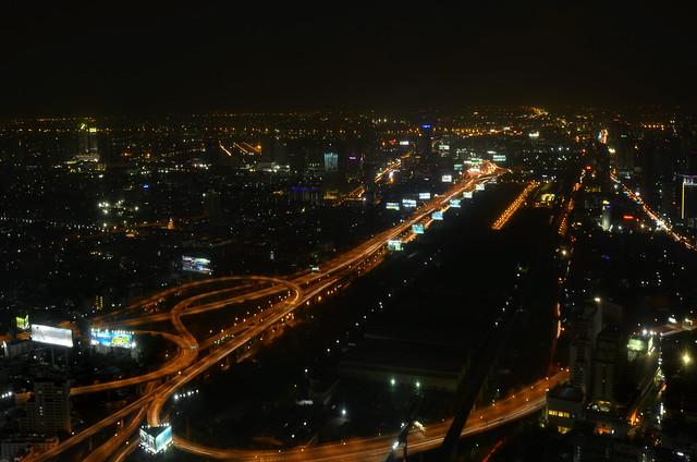 Vistas desde el hotel Baiyoke de Bangkok, uno de los mejores miradores que ver