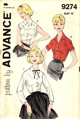 Advance 9274 blouse