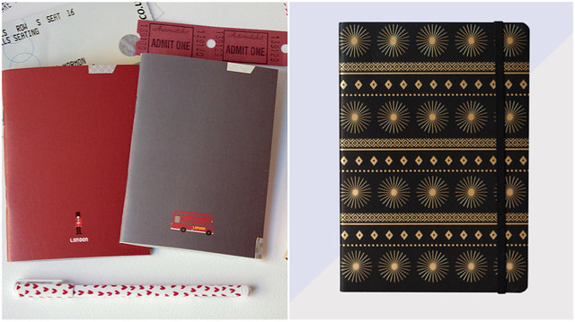 paperways notebooks starburst journal
