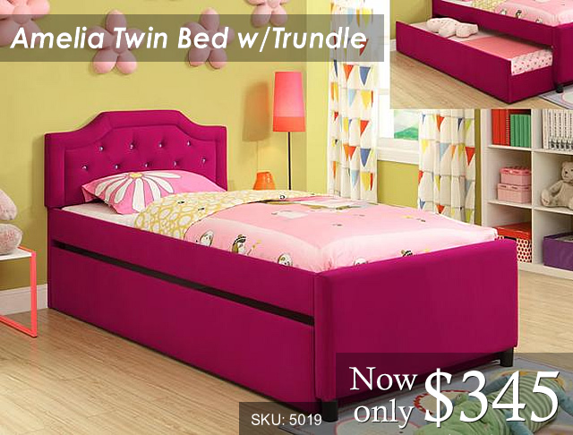 5019 - Amelia w-Trundle Priced