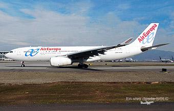 Air Europa A330-200 motores RR (R.Vildósola)