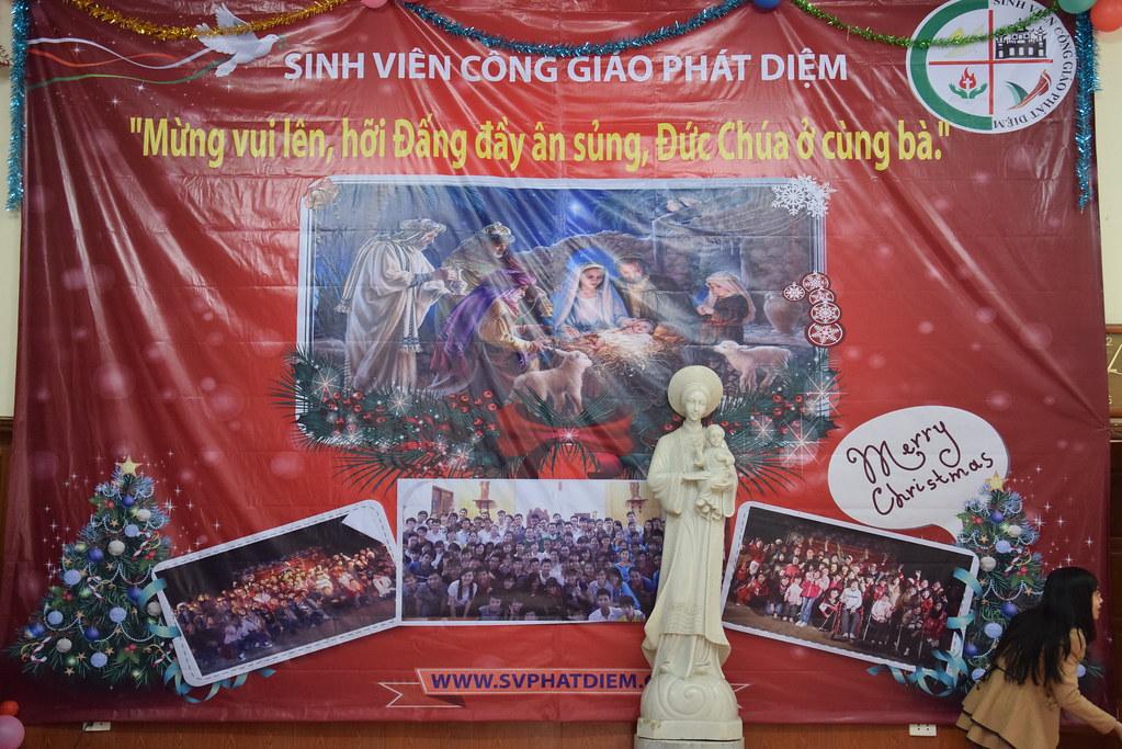 """Chương trình """"Giáng sinh yêu thương"""" 2014 nhóm SVCG Phát DIệm tại Hà Nội"""