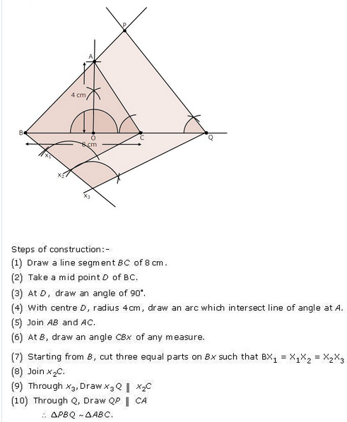 RD-Sharma-class 10-Solutions-Chapter-11-constructions-Ex 11.2 Q9