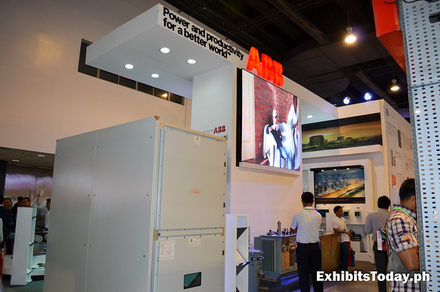 Back of ABB Trade Show Display