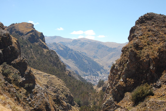 Views from Sacsamarca, Huancavelica, Peru
