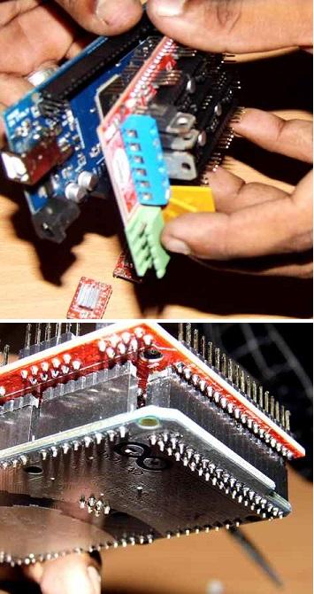 Wiring RAMPS Electronics for RepRap Prusa i3 3D Printer