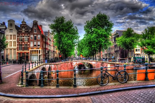 netherlands amsterdam canal nikon hdr 2014 d5000