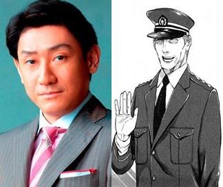 6 警視総監。 警察のトップの人間。 原作では登場機会も少なく、影の薄い存...  ドラマ『ウロ