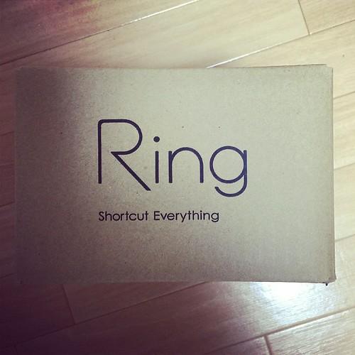 Ringの段ボール