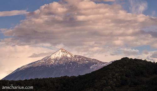 Pico del Teide seen from Teno Alto #2 - Olympus OM-D E-M1