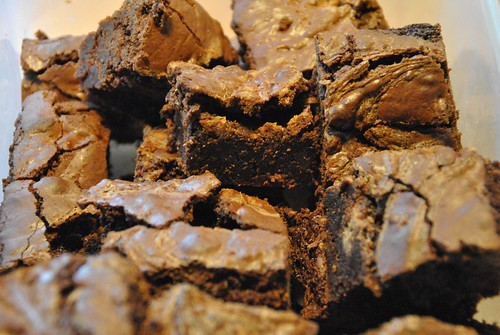 Golden Syrup and Salted Caramel Brownie