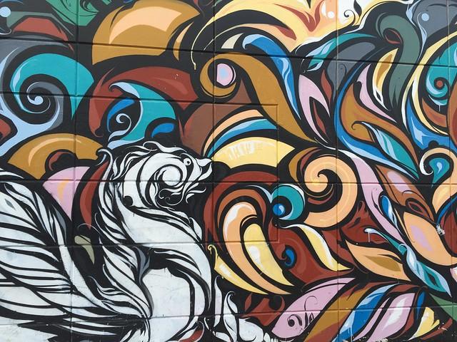 Graffiti mural, Mission