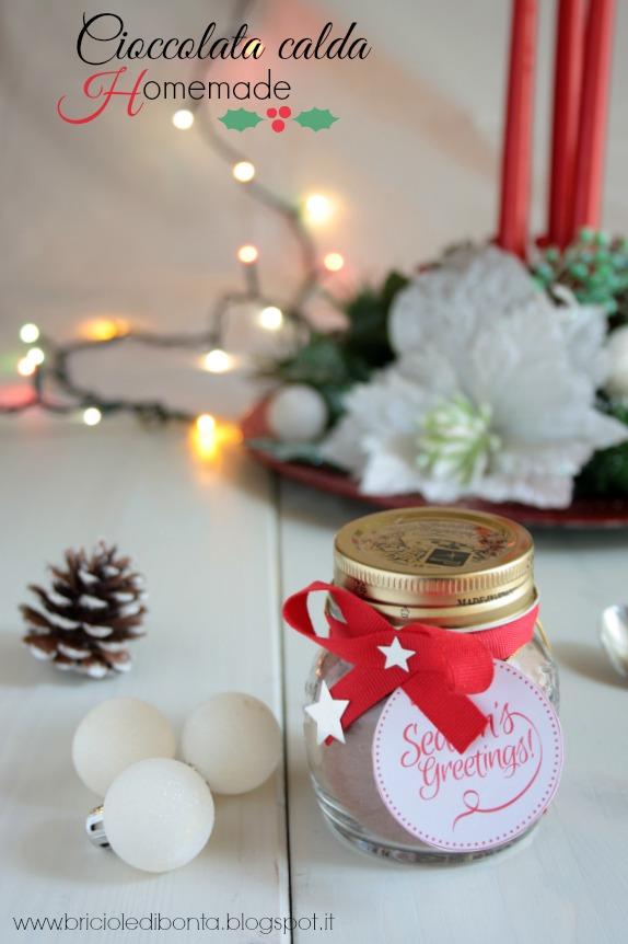 preparato per cioccolata calda homemade per #christmasgift
