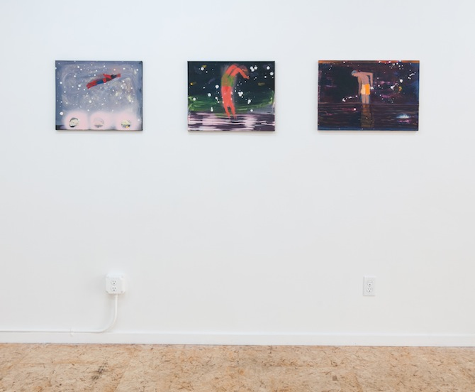 Katherine Bradford_at ADAMS AND OLLMAN in Portland, USA, featured on artfridge