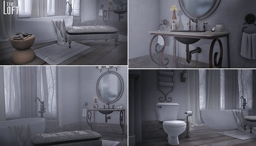 The Loft - Oriana Bathroom Suite