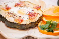 Acorn Squash with Eggs | Greenville Food Photograp…