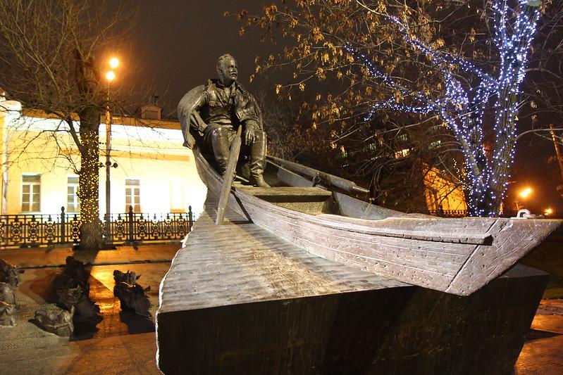 2014г. 21 декабря (Памятник Шолохову)