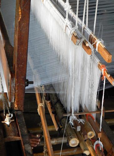 The Weaving Village on Inle Lake, Myanmar: Loom
