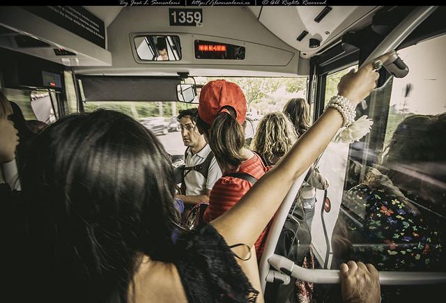 Perlas en el autobus
