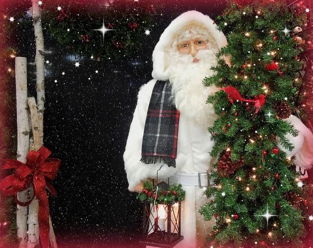 Santa's on his way...