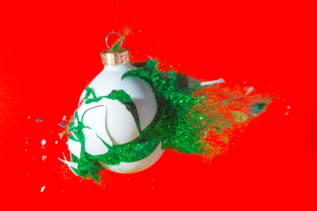 Festive Bauble Destruction