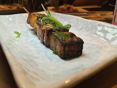 Pork Belly w Sorrel Pesto, YAKITORI-YA at Orsa &am…